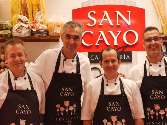 carnicería San Cayo mercado de ventas