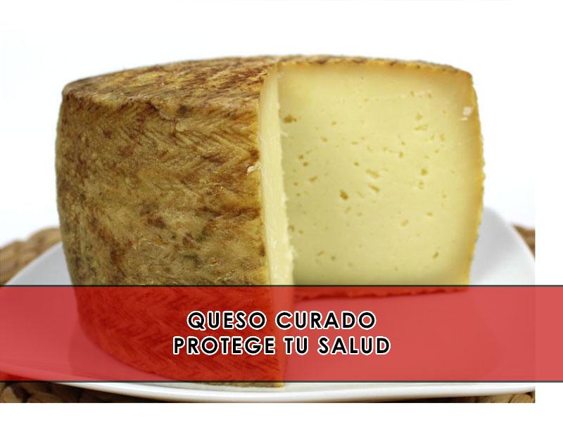 queso curado protege contra el cáncer