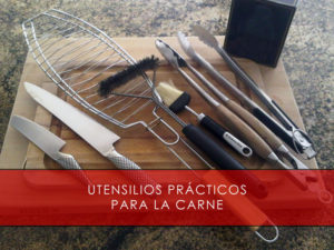 utensilios practicos para la carne