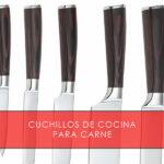 Cuchillos de cocina para carne