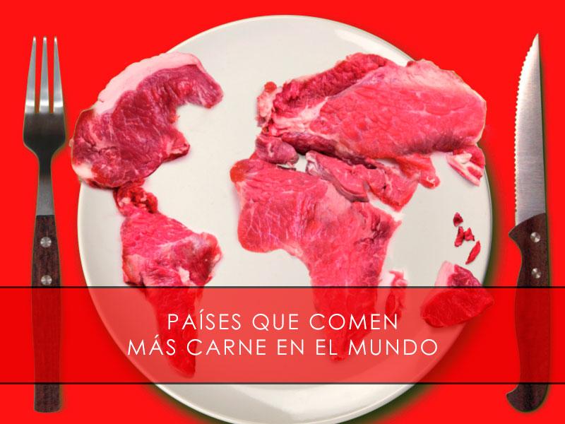 países que comen más carne