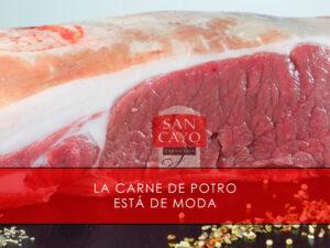 la carne de potro está de moda