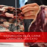 maduración de la carne Carnicería San Cayo