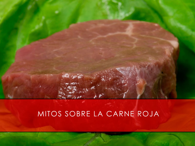Mitos sobre la carne roja