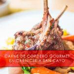 carne de cordero gourmet