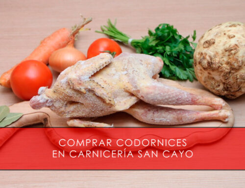 Comprar codornices en Carnicería San Cayo