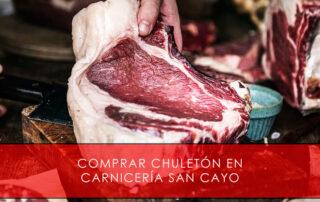 comprar chuletón en Carnicería San Cayo