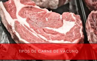 tipos de carne de vacuno San Cayo