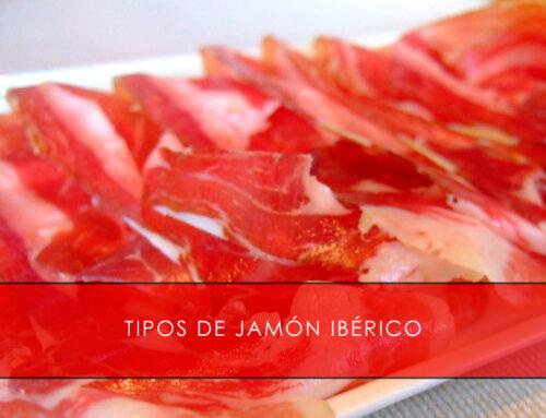 Tipos de jamón ibérico