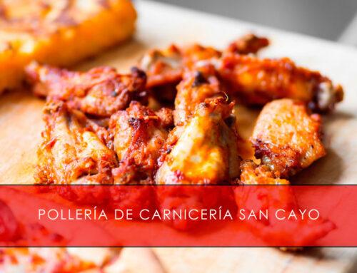 Pollería online con Carnicería San Cayo