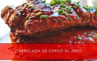 Carrillada de cerdo al Jerez Carnicería San Cayo