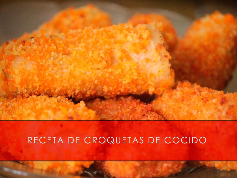 receta de croquetas de cocido - Carnicería San Cayo