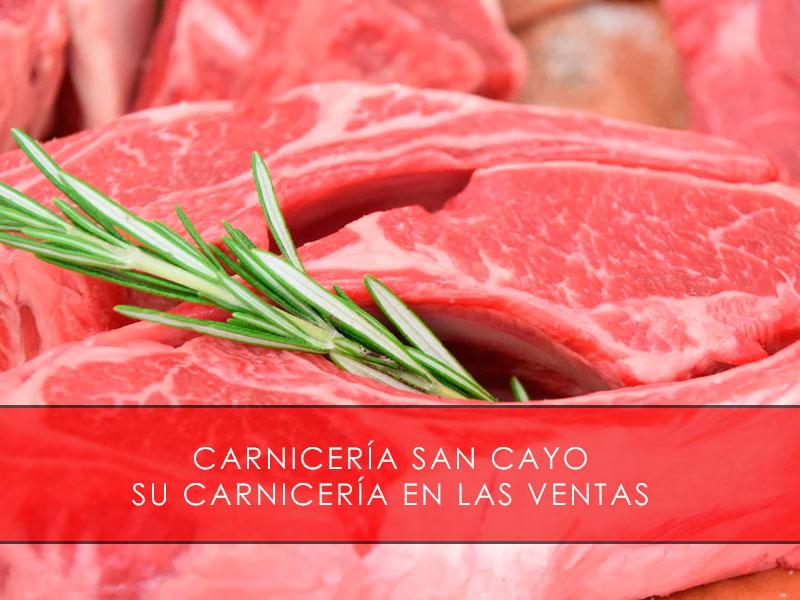 Carnicería en Las Ventas - Carnicería San Cayo
