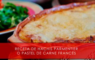 Hachis Parmentier o pastel de carne francés