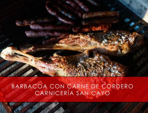 Barbacoa con carne de cordero